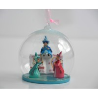 Sleeping Beauty Flora Fauna Merryweather Christmas Bauble