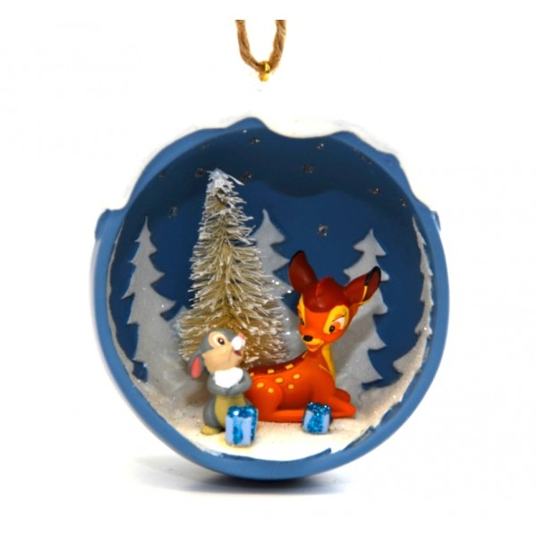 Disneyland Paris Bambi and Thumper Christmas Tree Decoration