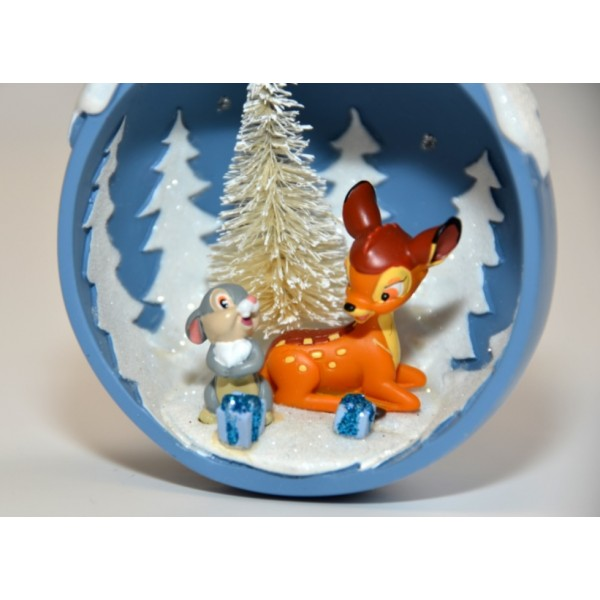 Christmas Decorations For Disneyland: Disneyland Paris Bambi And Thumper Christmas Tree Decoration