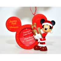 Mickey Photo Frame Christmas Ornament