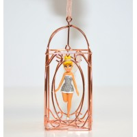 Tinker Bell in a Cage Christmas Ornament, Disneyland Paris