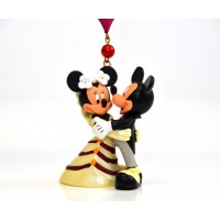 Disneyland Paris Mickey and Minnie Wedding Ornament