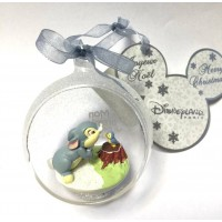 Baby Thumper in a small Christmas bauble, Disneyland Paris