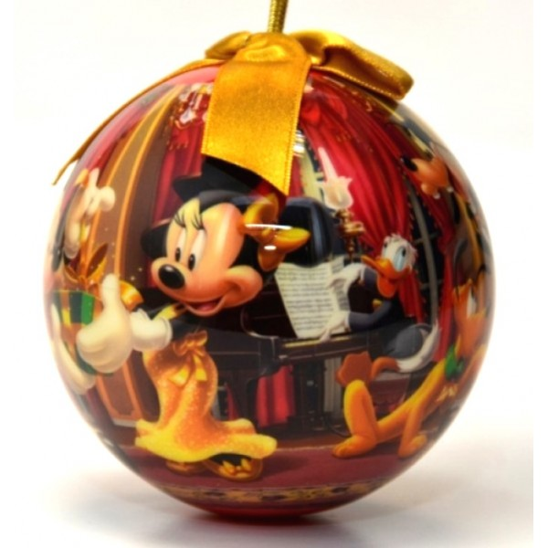 Mickey and Minnie Christmas Bauble