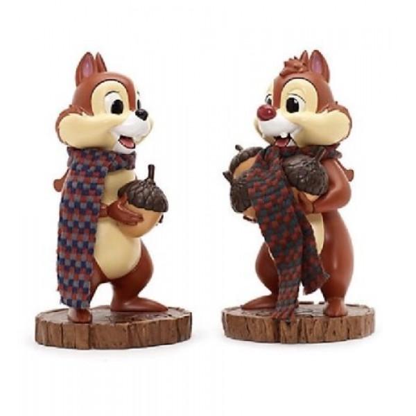 New Disney Parks Christmas Chip /& Dale Nutcracker Set Of Two