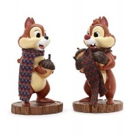Disney Chip and Dale Nutcracker Set Christmas Ornament Figurine Decoration