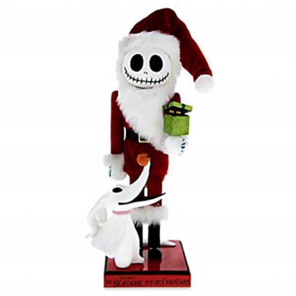 Disney Nutcracker Figure - Santa Jack Skellington