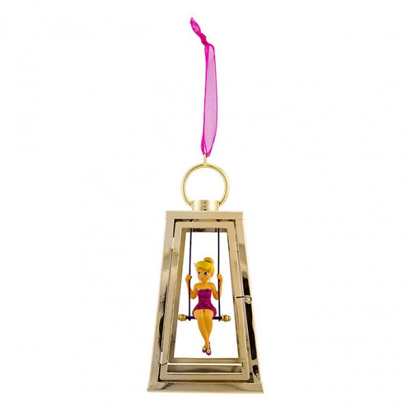 Disney Tinker Bell in a lantern Christmas Ornament