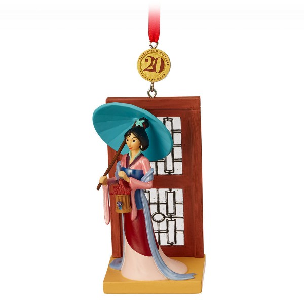 Mulan Hanging Ornament 20th Anniversary