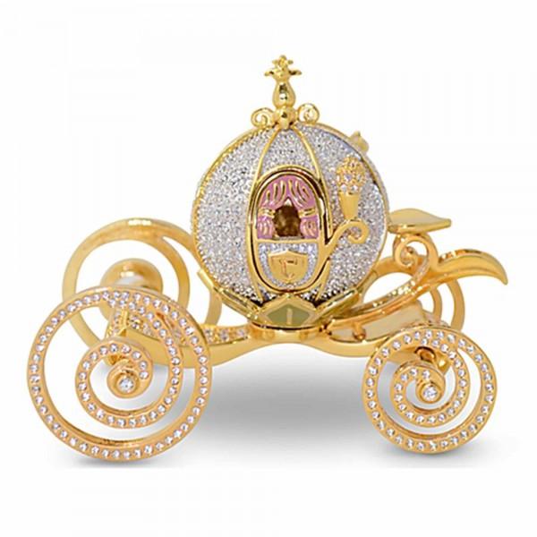 Princess Cinderella carriage Crystallized Swarovski, Arribas Brothers Collection