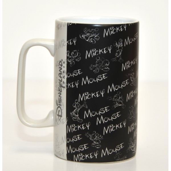 Mickey Mouse Patterned glass and Mug Set