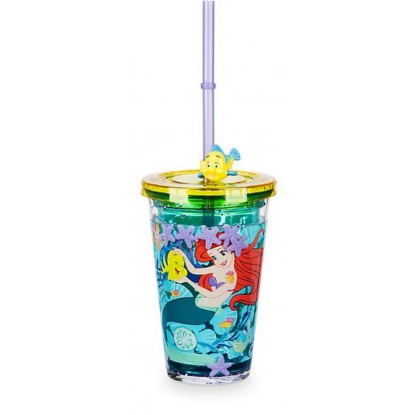 Ariel Straw Tumbler - Disney