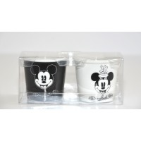 Disneyland Paris Mickey and Minnie classic Cups set of 2