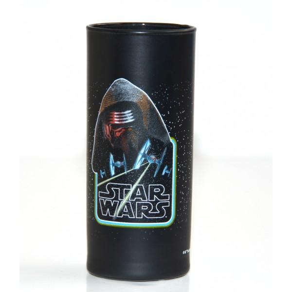 Star Wars Kylo Ren logo glass