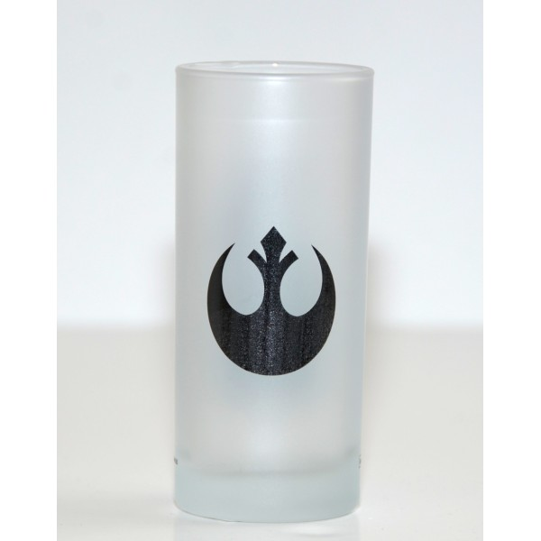 Star Wars Chewbacca logo glass