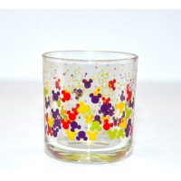 Disneyland Paris Mickey Mouse icon pattern colour glass