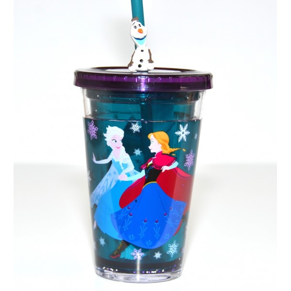 Disney Frozen Straw Tumbler