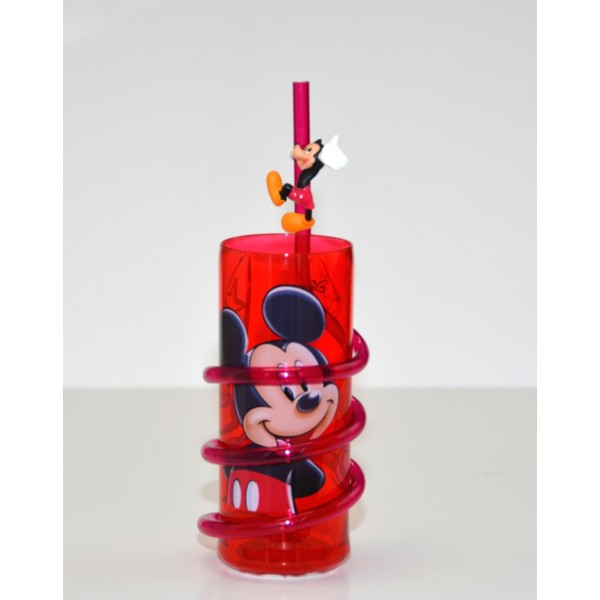 Mickey Mouse Curly Straw Tumbler