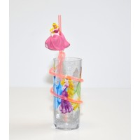 Disney Princess Curly Straw Tumbler