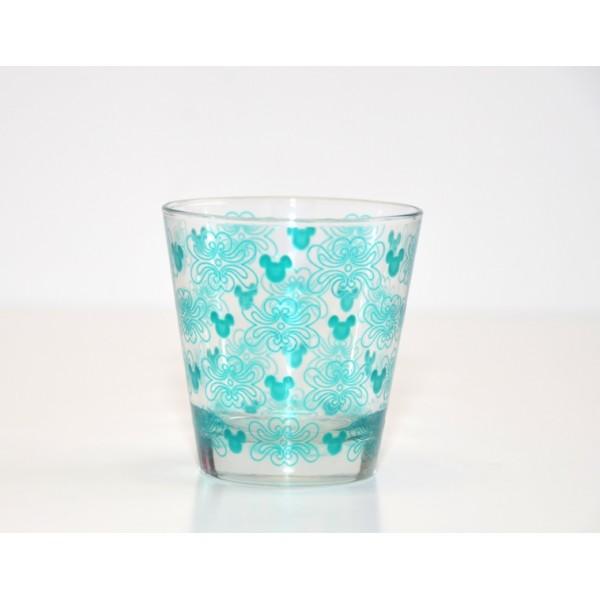 Mickey Mouse Icon Indigo Drinking Glass
