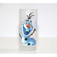 Olaf Character Drinking Glass, Disneyland Paris
