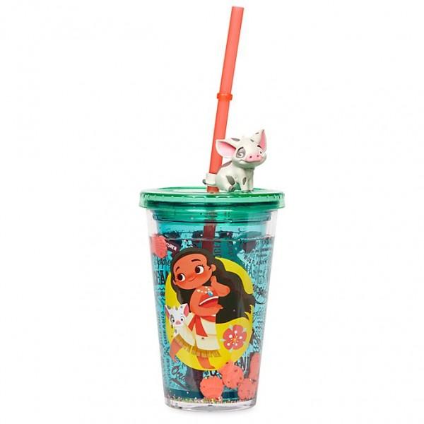 Disney Moana Straw Tumbler, Disneyland Original