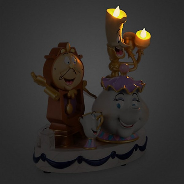 Beauty And The Beast 39 39 Enchanted Objects 39 39 Figurine By
