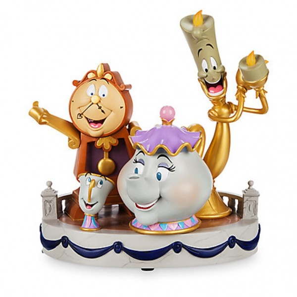 Beauty and the Beast ''Enchanted Objects'' Figurine by Derek Lesinski