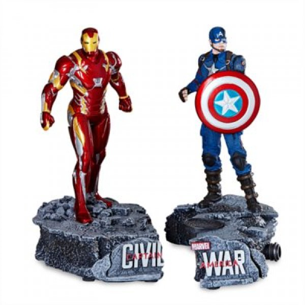 Captain America and Iron Man Limited Edition Figurine
