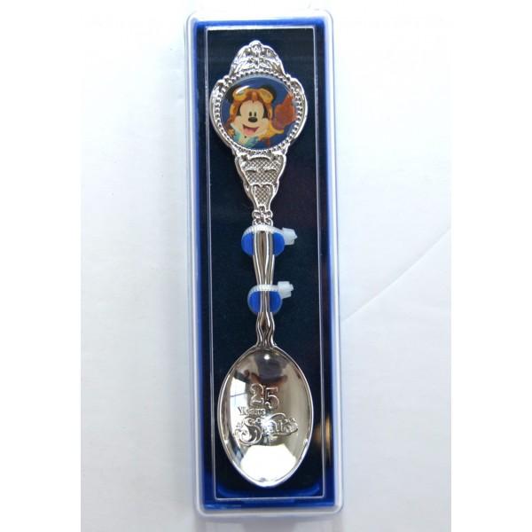 Disneyland Paris 25 Anniversary Souvenir Spoon