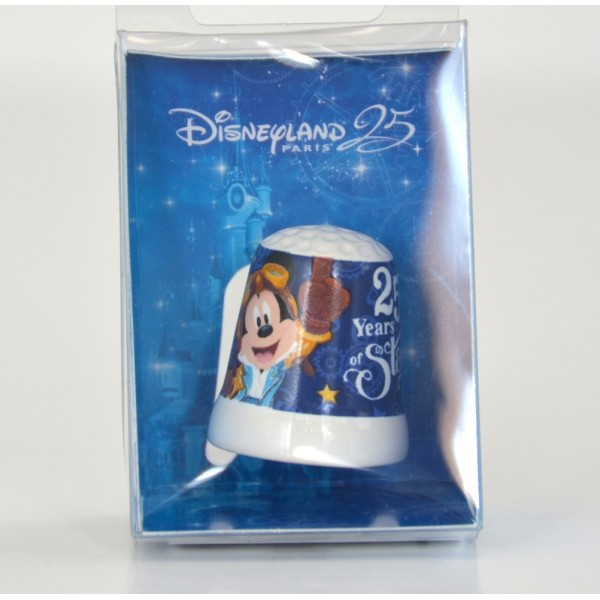Disneyland Paris 25th Anniversary Souvenir Thimble
