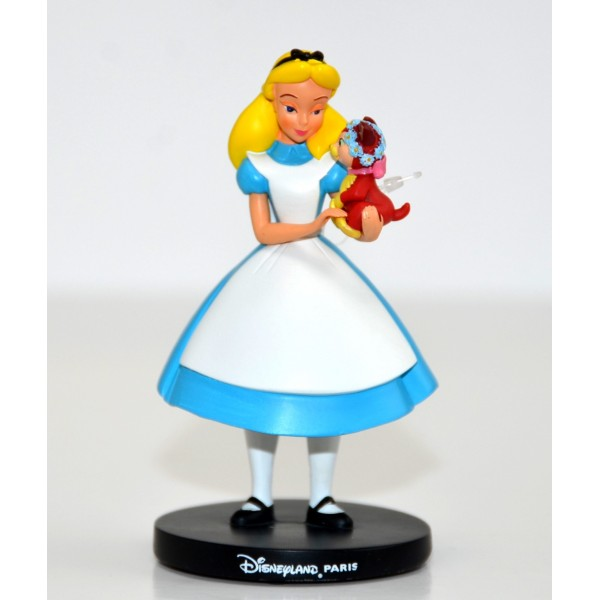 Disneyland Paris Alice and Dinah figurine