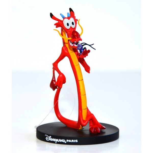 Mushu from Mulan Figurine, Disneyland Paris