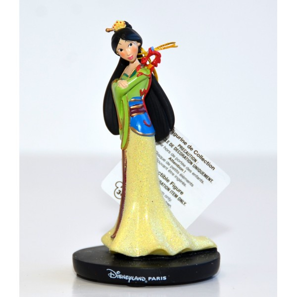 Princess Mulan and Mushu Figurine, Disneyland Paris