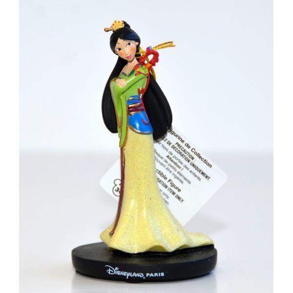 Princess Mulan and Mushu Figurine, Disneyland Paris