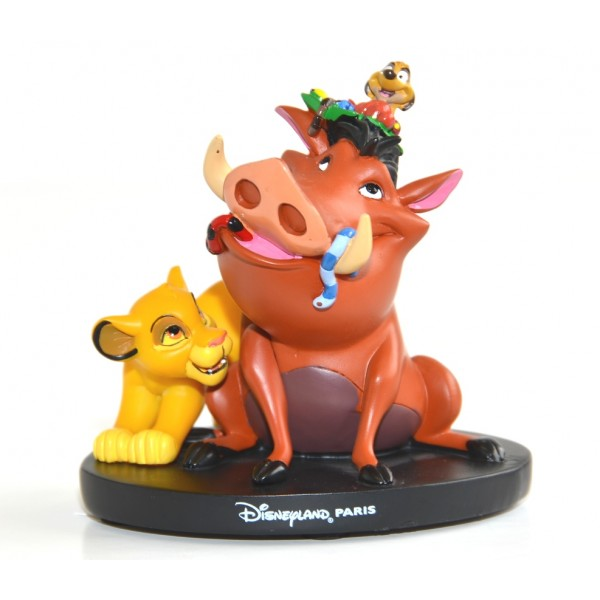 Disney Simba Timon and Pumba figure, Disneyland Paris