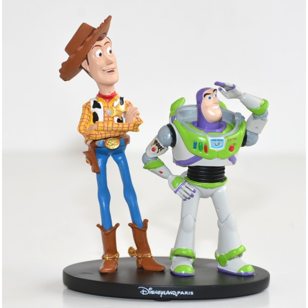 Disney Woody and Buzz Lightyear small figure, Disneyland Paris