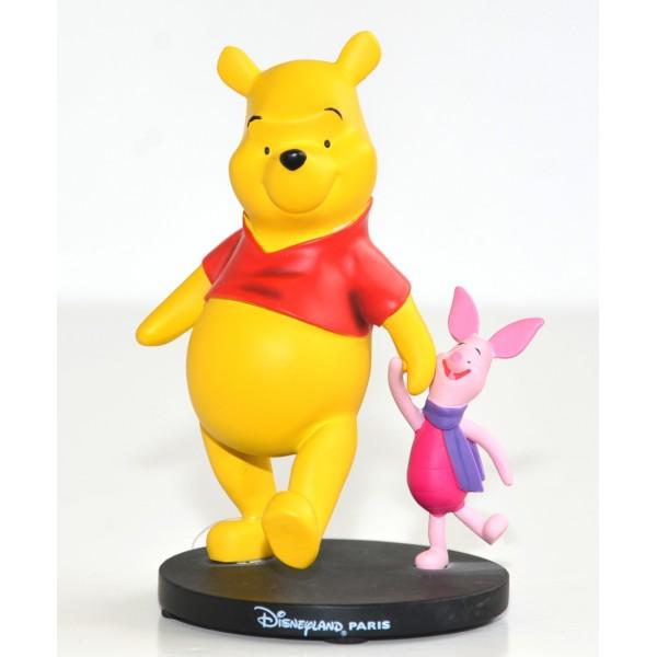 Disney Winnie the Pooh and Piglet small figure, Disneyland Paris