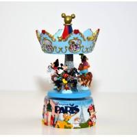 Disneyland Paris Mickey and Friends Carousel Music Box