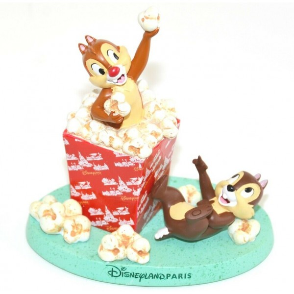 Disneyland Paris Chip and Dale Figurine