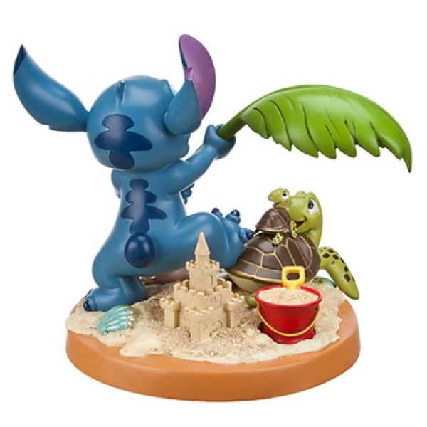 Disney Medium Figure Statue - Stitch 10th Anniversary – Beach