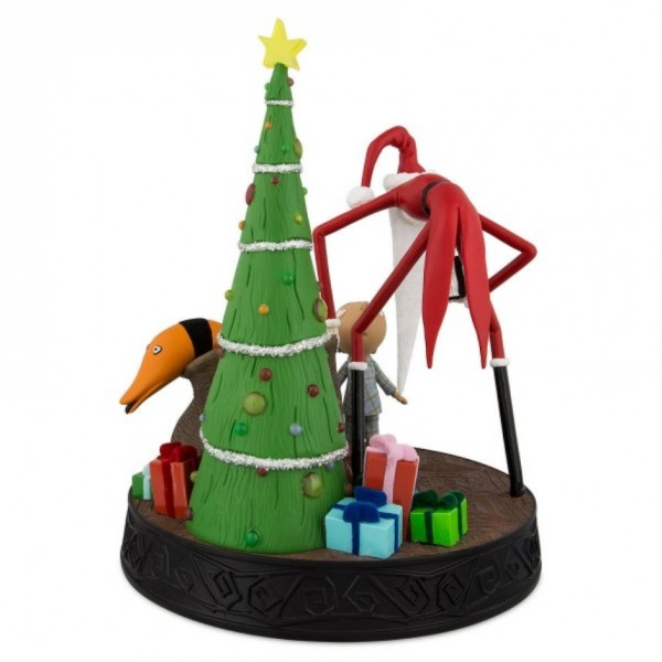Santa Jack Skellington light-up Figurine