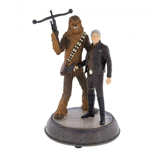Star Wars Han Solo & Chewbacca Figurine - Star Wars: The Last Jedi