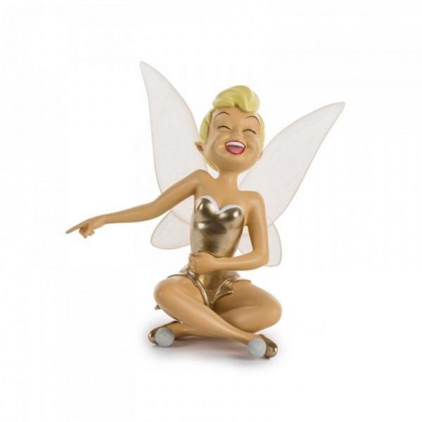 Tinker Bell in Gold figurine Limited Edition, Original Leblon Delienne
