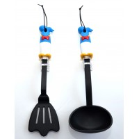 Donald Duck Cooking Set, Soup Scoop and Spatula