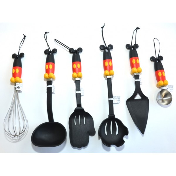 Mickey Mouse kitchen Cooking Utensils set of 6