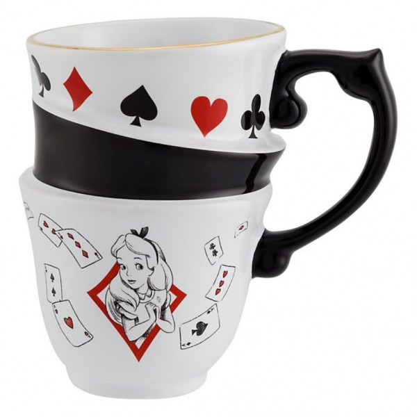 Disneyland Paris Alice in Wonderland Stacked Mug - New collection