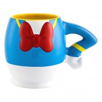 Donald Duck Large Fun Breakfast Mug, Disneyland Paris