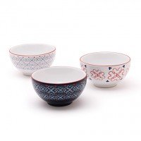 Mickey Mouse Icon Indigo Soup Bowl Set – Small