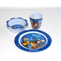 Disneyland Paris 25 Anniversary Mickey Mouse Breakfast Set